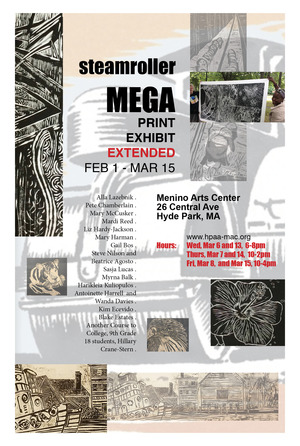 Steamroller Mega Print Exhibit
